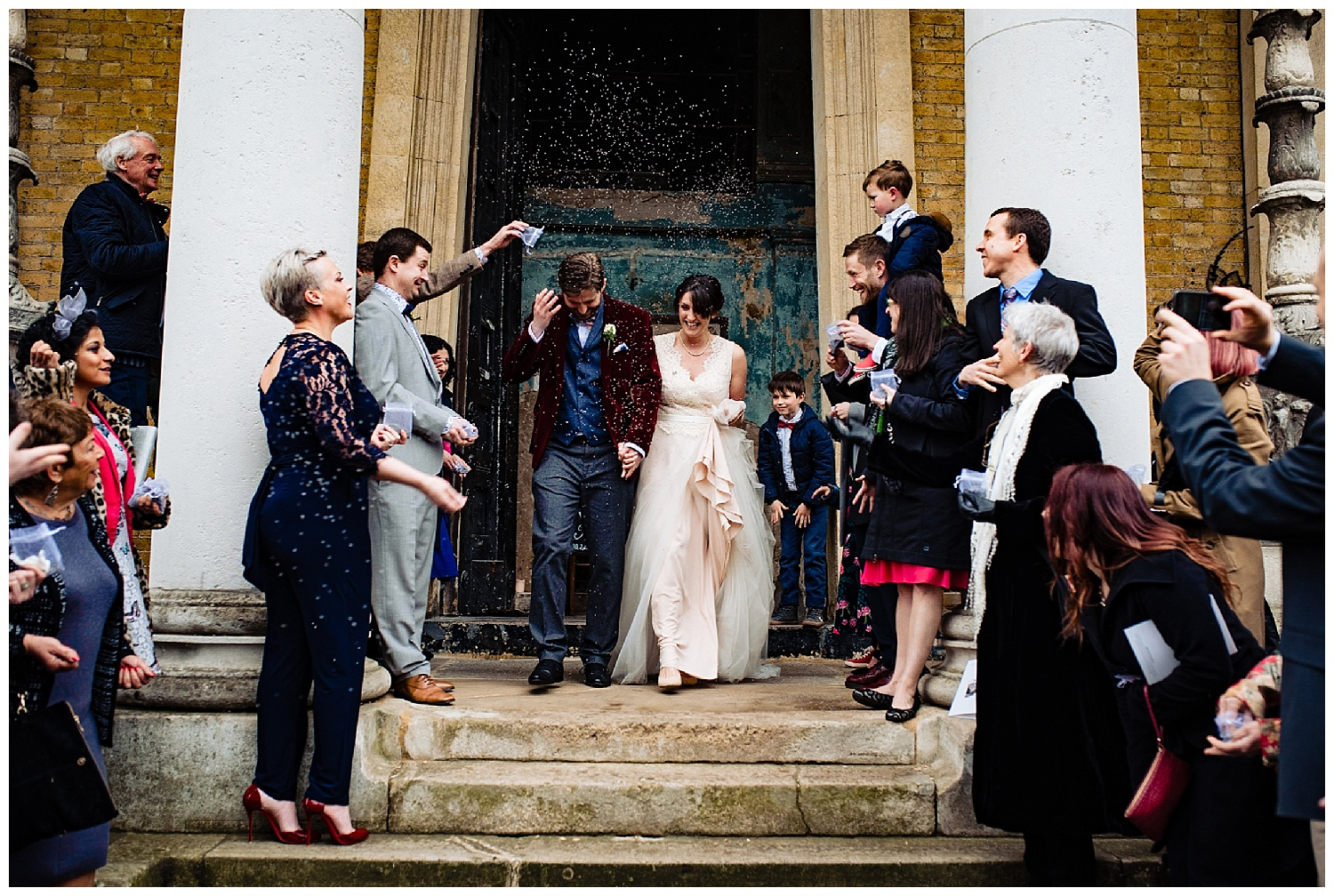 The Asylum Peckham Wedding Photographer