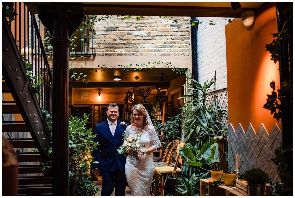 Mayfair Library Wedding Photographer