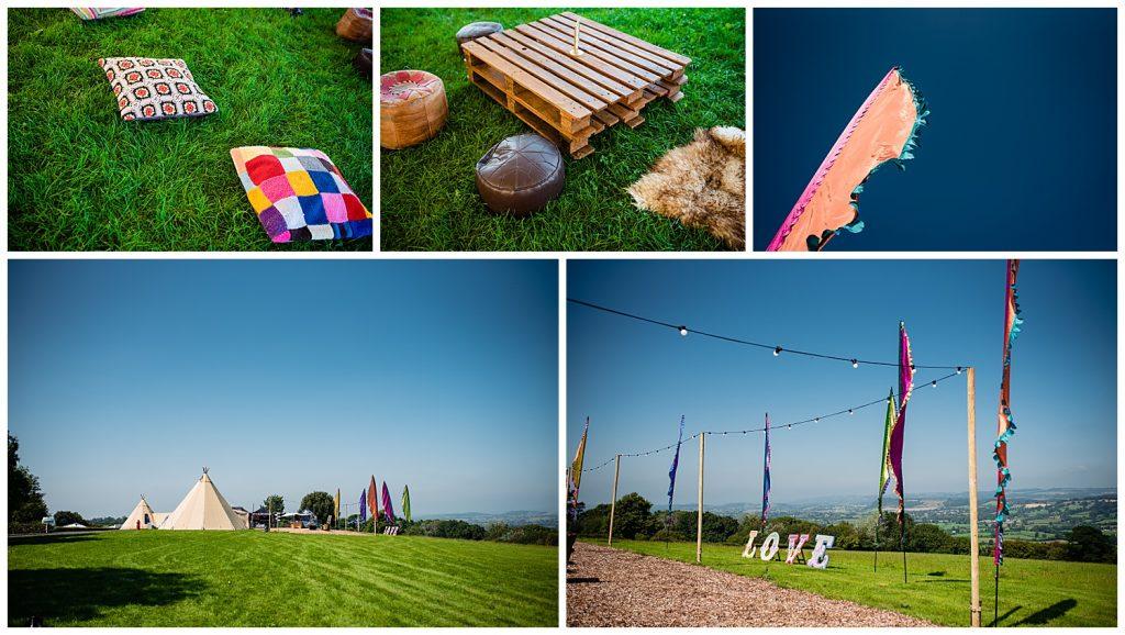 Glastonbury Festival Wedding